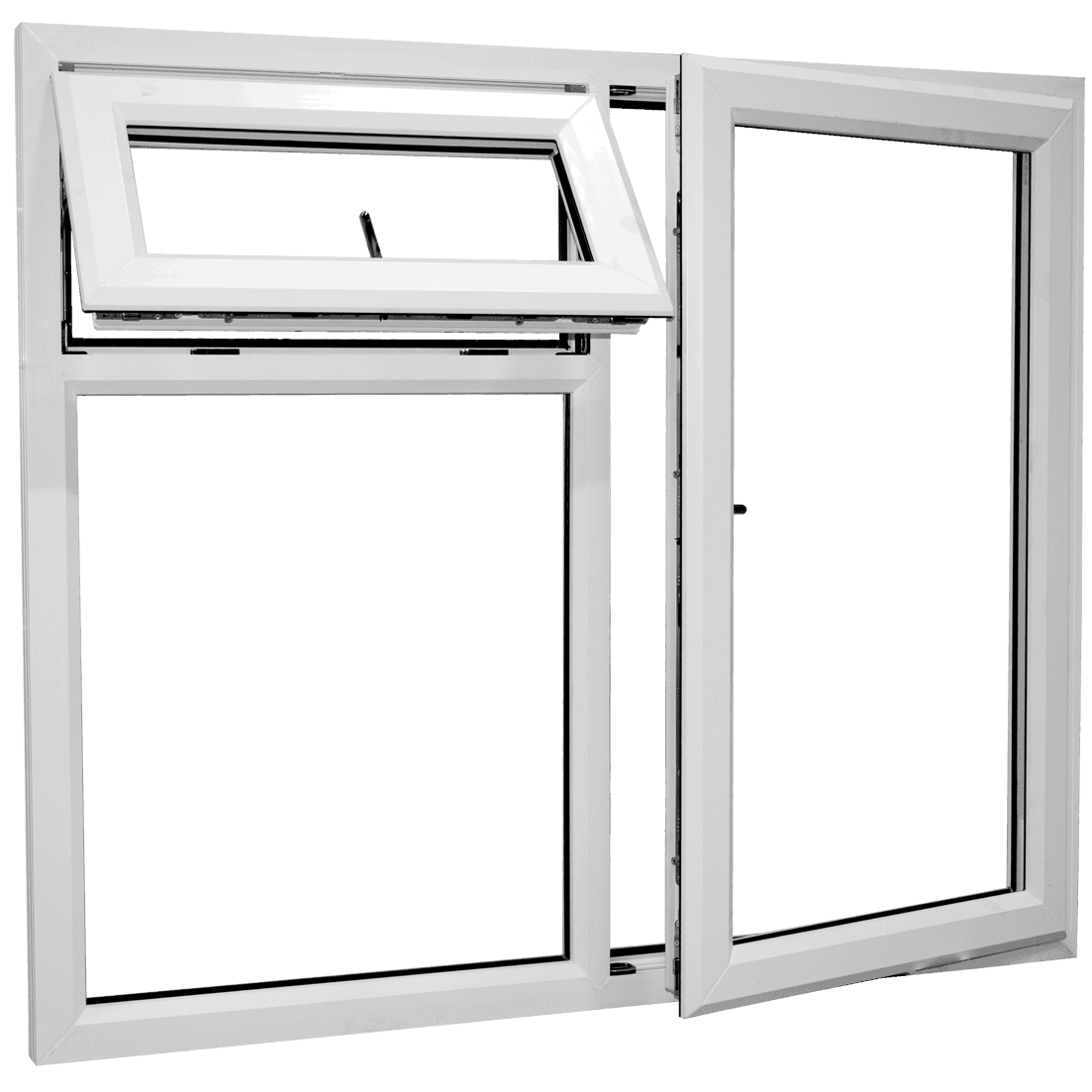 Why Ecostar UPVC double glazed windows and doors are better than aluminium and timber windows and doors